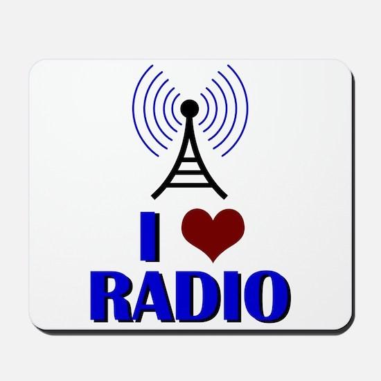 I Love Radio Mousepad