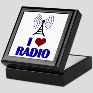 I Love Radio Keepsake Box
