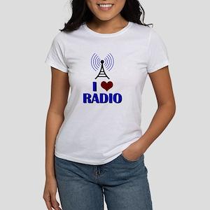 I Love Radio Women's T-Shirt