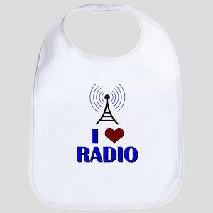 I Love Radio Bib