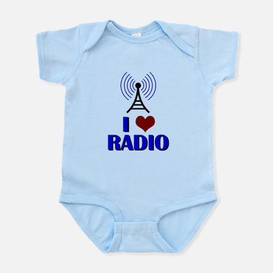 I Love Radio Infant Bodysuit