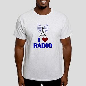 I Love Radio Light T-Shirt