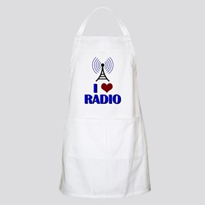 I Love Radio Apron