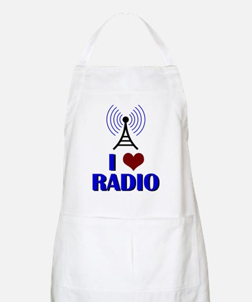 I Love Radio Apron