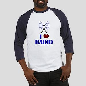 I Love Radio Baseball Jersey