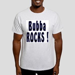 Bubba Rocks ! Ash Grey T-Shirt