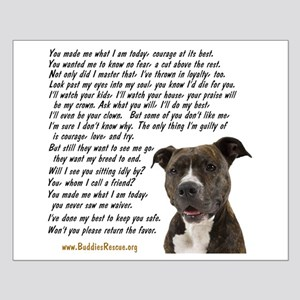 Only Thing, Pit Bull - Small Poster