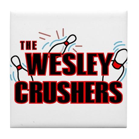 Wesley Crushers Tile Coaster