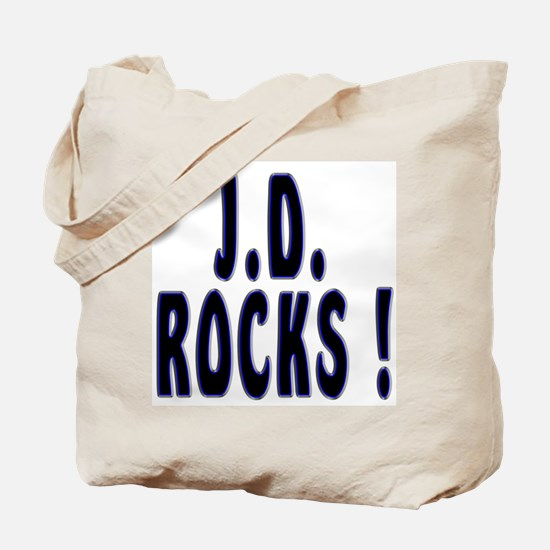 J.D. Rocks ! Tote Bag