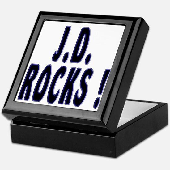 J.D. Rocks ! Keepsake Box