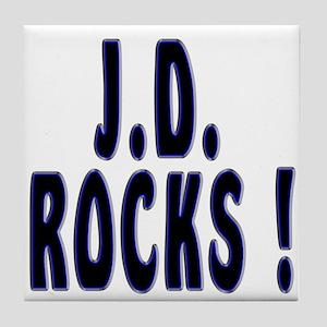 J.D. Rocks ! Tile Coaster