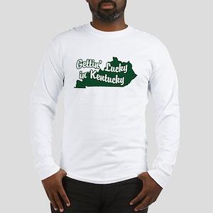 Gettin' Lucky in Kentucky Long Sleeve T-Shirt