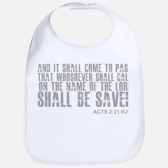 Call on Jesus and be saved Bib