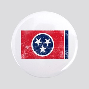 "Vintage TN State Flag 3.5"" Button"