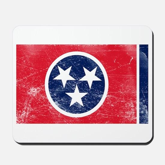 Vintage TN State Flag Mousepad