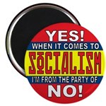 """From the Party of No! 2.25"""" Magnet (10 pack)"""
