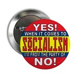 """From the Party of No! 2.25"""" Button (100 pack)"""