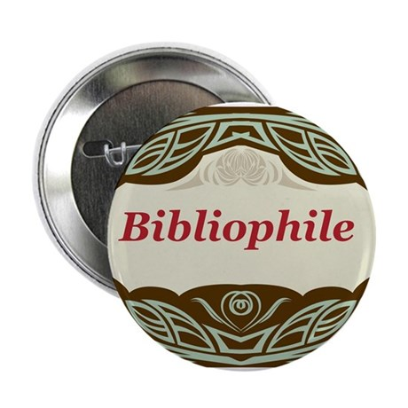 "Bibliophile 3 2.25"" Button (100 pack)"