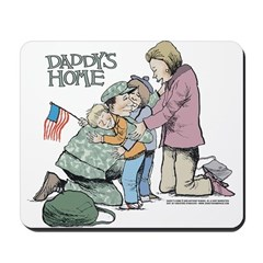 Daddy's Home! Mousepad