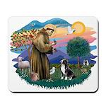 St Francis #2/ Amer Staff. Mousepad