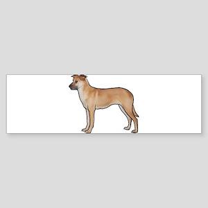 Chinook Dog Bumper Sticker