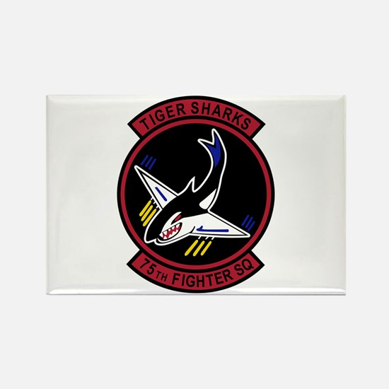 75th Fighter Squadron Rectangle Magnet (10 pack)