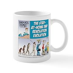 Stay-at-Home Dad Evolution Mug
