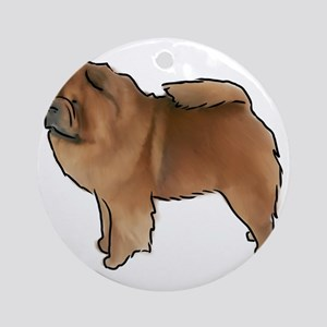 Chow Chow Round Ornament