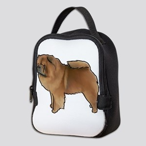 Chow Chow Neoprene Lunch Bag