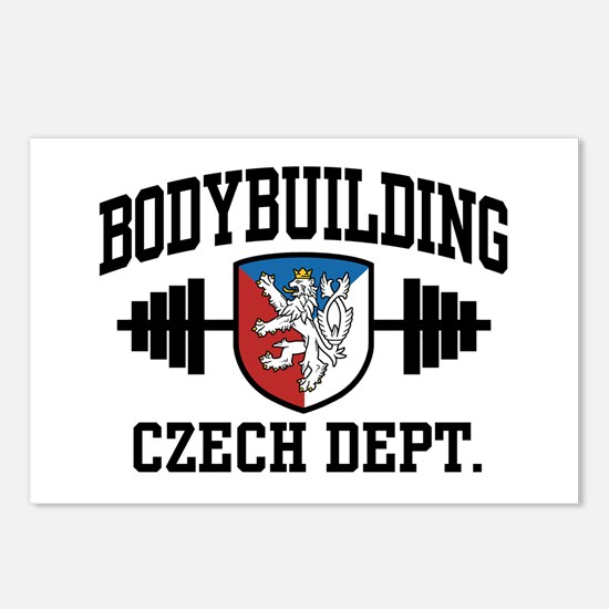 Czech Bodybuilding Postcards (Package of 8)