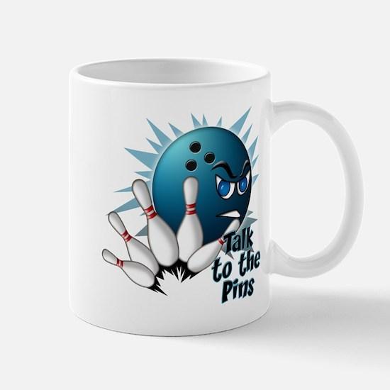 Talk to the Pins Mug