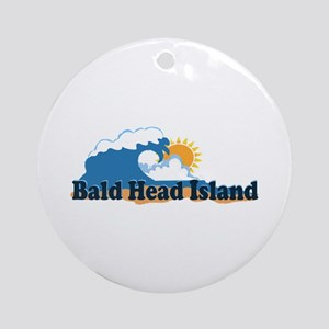 Bald Head Island NC -Beach Design Ornament (Round)
