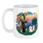 St Francis #2/ Bichon (2) Mug