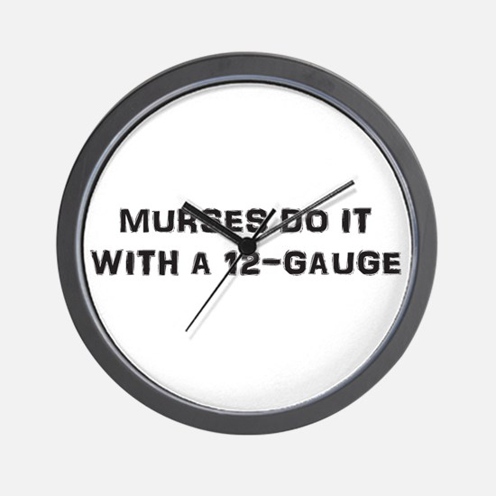 Murse Wall Clock