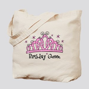 Tiara Birthday Queen Tote Bag