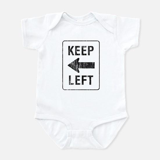 Keep Left Infant Bodysuit
