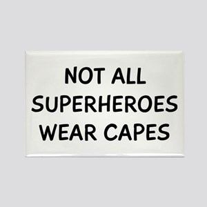 Not Superheroes Rectangle Magnet