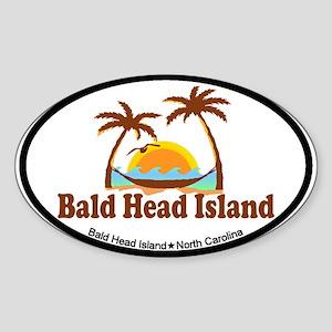 Bald Head Island NC - Sun and Palm Trees Design St