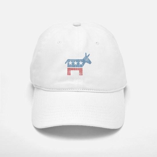 Vintage Democrat Donkey Baseball Baseball Cap