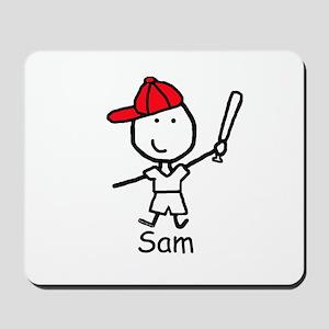 Baseball - Sam Mousepad