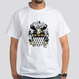 Leach Coat of Arms White T-Shirt