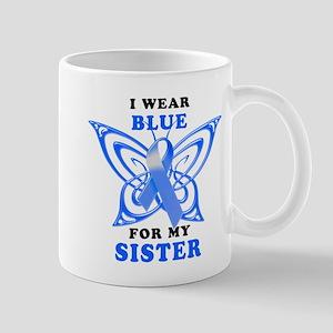 I Wear Blue for my Sister Mug