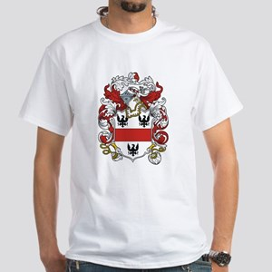 Leeds Coat of Arms White T-Shirt