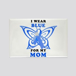 I Wear Blue for my Mom Rectangle Magnet