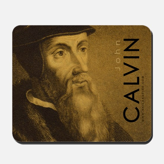 John Calvin - Protestant Reformer (Mousepad)