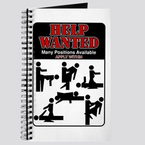 Help Wanted Journal