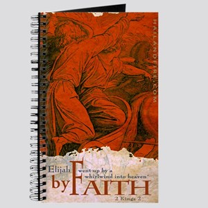 By Faith: Elijah Went Up By Whirlwind (Journal)