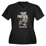 THE RAT PATROL Women's Plus Size V-Neck Dark T-Shi