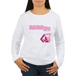 Hansennettes Crest Women's Long Sleeve T-Shirt