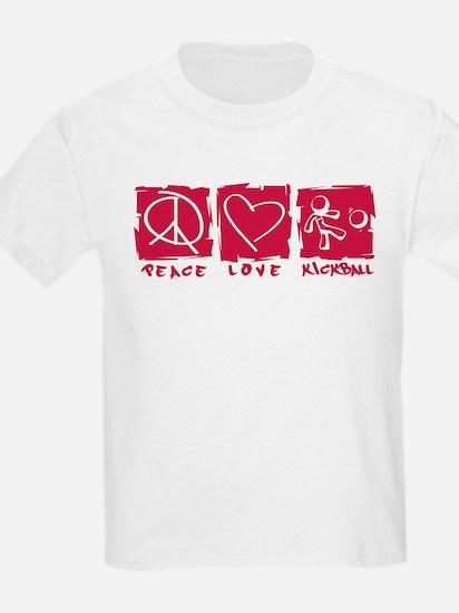 Peace.Love.Kickball T-Shirt